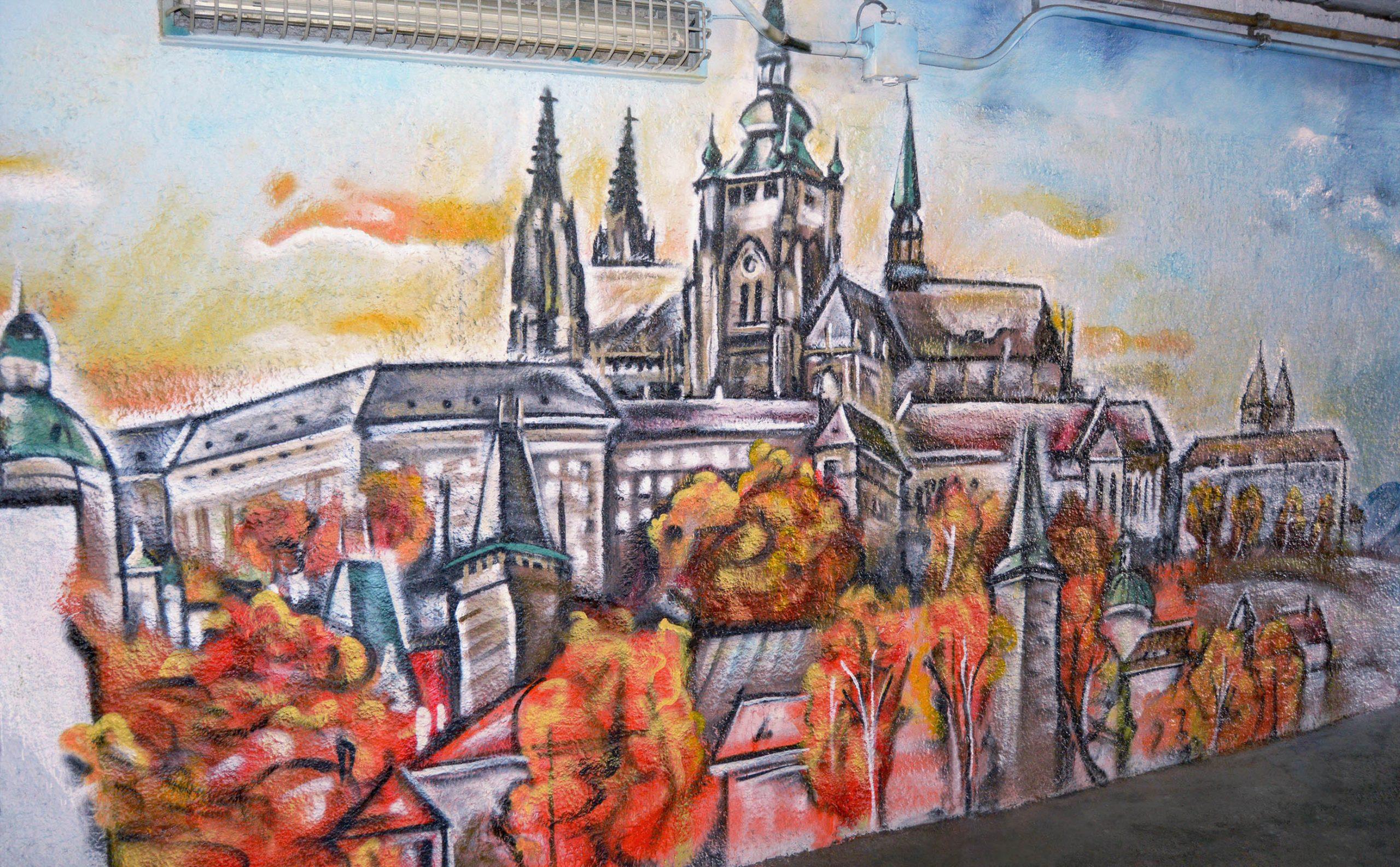 Ročné obdobia v podchode, Praha 2019
