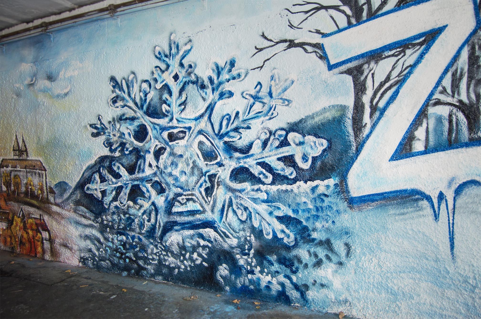 Zima malba1